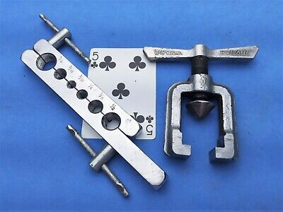 Imperial Rolair Flaring tool set (6 sizes; 3/16 1/4 5/16 3/8 1/2 & 5/8) USA Made