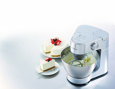 Kenwood Stand Mixer Silver 900 W Home Bread Biscuit Food Maker Kitchen Appliance