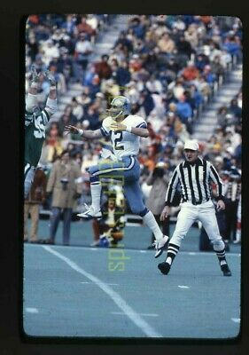 1978 Roger Staubach QB Dallas Cowboys - Vintage 35mm NFL Football Slide