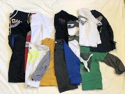 Boys 3T Long Sleeve T Shirts Puma Lucky Hannah Anderson Lot of 13