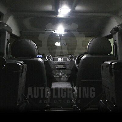 For Land Rover Defender 90 110 White LED Interior Light Upgrade Bulbs *SALE*