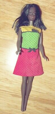 1966 African American Barbie Doll With Some Clothes Bendable Legs