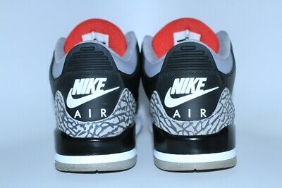 factory authentic d7f6c e99ff NIKE AIR JORDAN III 3 BLACK CEMENT 2018 OG RETRO ORIGINAL Size 9.5