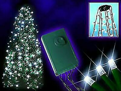 192 White LED  Waterfall Effect Tree Christmas Lights For Indoor & Outdoor Use