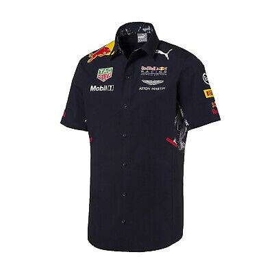 SHIRT Teamshirt Red Bull Racing Team F1 Puma RaceShirt Formula 1 DE