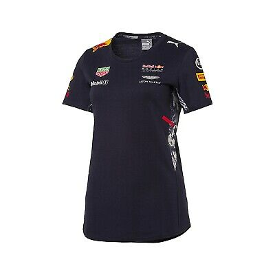 T-Shirt damen Red Bull Racing Team Sponsor Tee Formula F1 XL DE