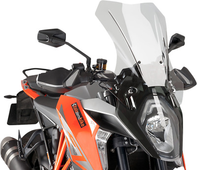"""PUIG Sport Touring Windshield 22-5/8"""" Clear 8913W"""