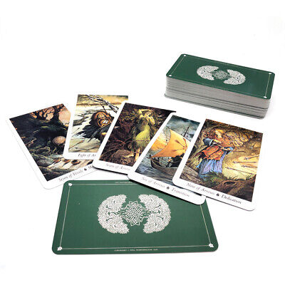 78 Pcs/ Set Card Wild Wood Tarot Cards Beginner Deck Vintage Fortune Prophecy US