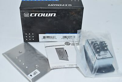 NEW Crown PZM-11LLWR Weather Resistant Pressure Zone Microphone, Security Survei