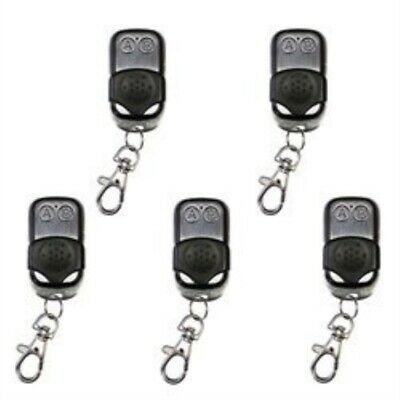 ALEKO Remote Control Transmitter 433.92 MHZ for Automatic Gate Openers Lot of 5