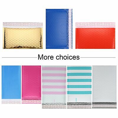 Multi-Size Poly Air Bubble Envelope Mailer Shipping Mailing Padded Self Seal Bag