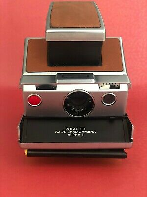 Polaroid SX-70 Alpha 1 GREAT CONDITION Film tested