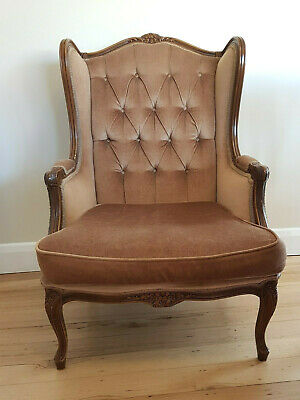 Wing Back Grandfather Armchair