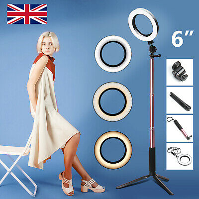 128cm LED Studio Ring Light Photo Video Dimmable Camera Phone Lamp Light Kit
