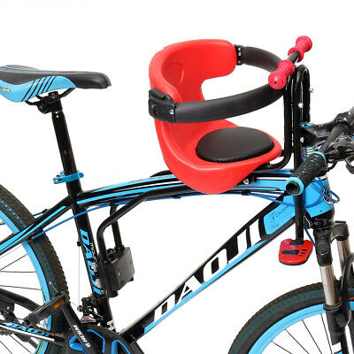Kids Bicycle Chair Carrier Baby Bike Safety Toddler Child Seat Front Comfortable