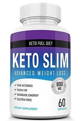 Keto Advanced Weight Loss Capsules 800mg 60 Capsules Free Postage