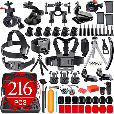 Accessories Pack Case Chest Head Floating Monopod F. GoPro Go pro Hero 7 6 5 4 3