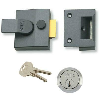 Yale P2 High security auto deadlocking lock P-2-DMG-40 inc X5 6Pin cylinder