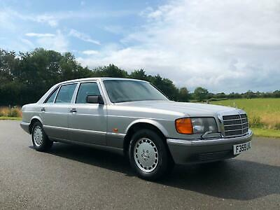 1989 Mercedes-Benz 560 SEL Automatic. Only 2 Owners and Just 51,000 Miles