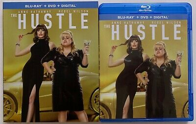 The Hustle Blu Ray Dvd 2 Disc Set + Slipcover Sleeve Free World Wide Shipping