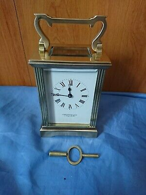 A Fine Carriage Clock By Garrard And Co