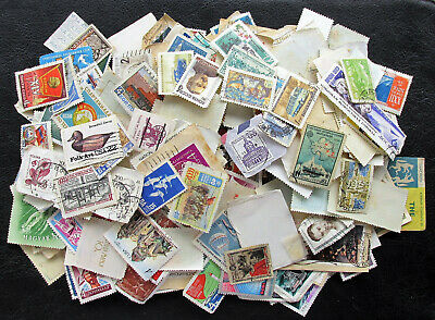 500 Different Old Vintage World Stamps Lot