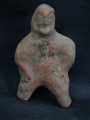 Ancient Teracotta Figure Indus Valley 500 BC No Reserve #SG4208