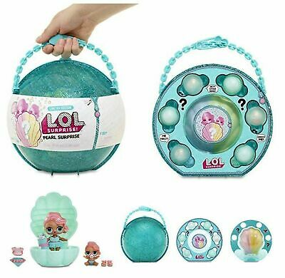 LOL Pearl Surprise TEAL Limited Edition Doll with L'il Sister & Fizz Surprise