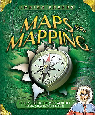 """""""AS NEW"""" Jinny Johnson and Lyn Stone, Maps and Mapping (Inside Access), Book"""