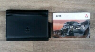 Mitsubishi L200 Owners Manual And Wallet