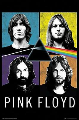 PINK FLOYD - BAND COLLAGE POSTER - 24x36 MUSIC 3384