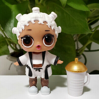 lol surprise doll Big Sister Series 1-006 White Hair DIY White Dress Kids Gift