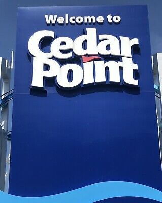 2 CEDAR POINT THEME PARK TICKETS - PLUS PARKING! Sandusky, OH - Adult or Child
