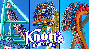 Knott's Berry Farm E-Ticket: 1 Day General Day Admission