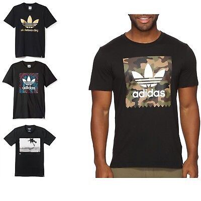 Adidas Men's Crew Neck Short Sleeve T-Shirts Colors & Sizes & Models NEW