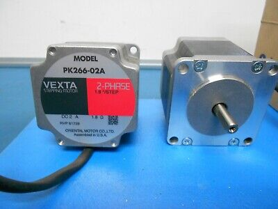 VEXTA PK266-02A & Oriental Motor PKE243DA-L Stepper Motors Lot of 5