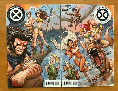 HOUSE OF X 5, POWERS OF X 5, Nakayama Connecting Variant Set -2 book set - NM+