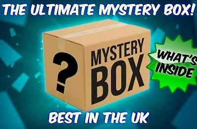 Mystery box New & Used electronics, clothing, consoles, games, dvds and more