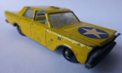 Matchbox No #55/59 - FORD GALAXIE in gelb