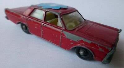 Matchbox No #55/59 - FORD GALAXIE in rot