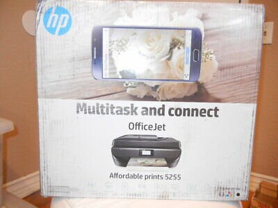 HP OfficeJet 5255 Wi-Fi USB All in One Color InkJet PrinterM2U75A#B1H
