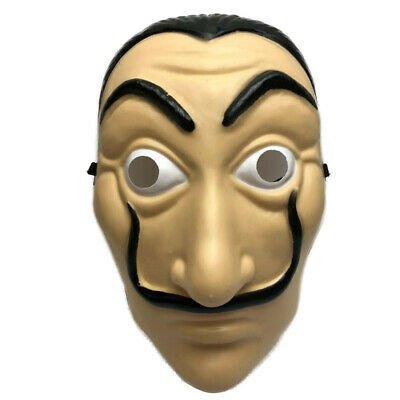Money Heist The House of Paper La Casa De Papel Mask Salvador Dali Unisex