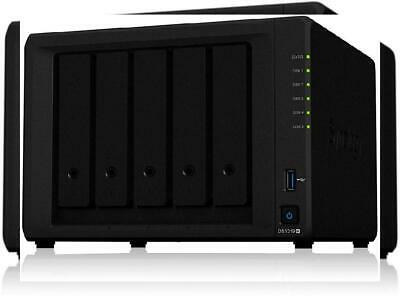 Synology 5 Bay NAS DiskStation DS1019+ (Diskless) 5-bay; 8GB DDR3L
