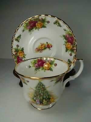 Royal Albert Christmas Magic Tea Cup and Saucer. 1990
