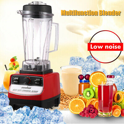 Commercial Food Blender Kitchen Mixer Milkshake Smoothie Restaurant Soup Maker