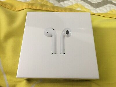 Apple AirPods 2nd Generation with Wireless Charging Case MRXJ2AM/A- Sealed New!!