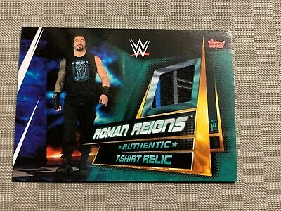 Slam Attax Universe Roman Reigns Authentic T Shirt Relic card