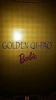 Barbie Golden Qi-Pao limited edition NEW NRFB
