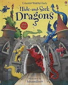 Touchy-feely Hide and Seek Dragons de Watt, Fiona | Livre | état bon
