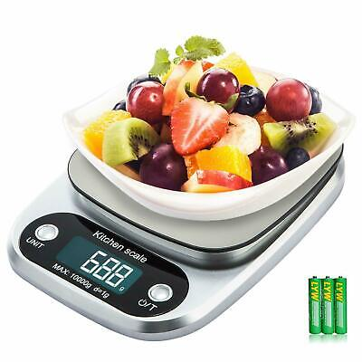 10kg Kitchen Scales Food Baking Weight Digital LED Electronic Weighing Scale